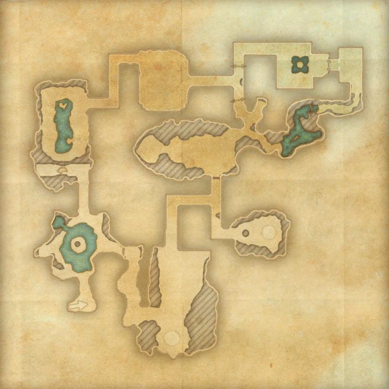 A map of Crypt of Hearts II