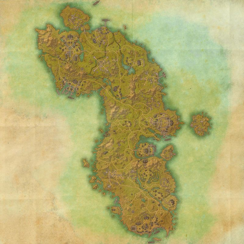 A map of Auridon